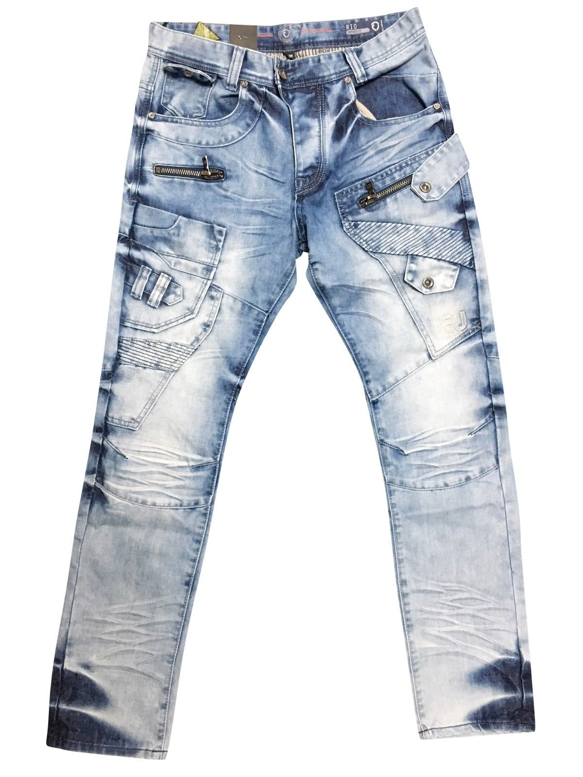 Mens Stonewashed Jeans
