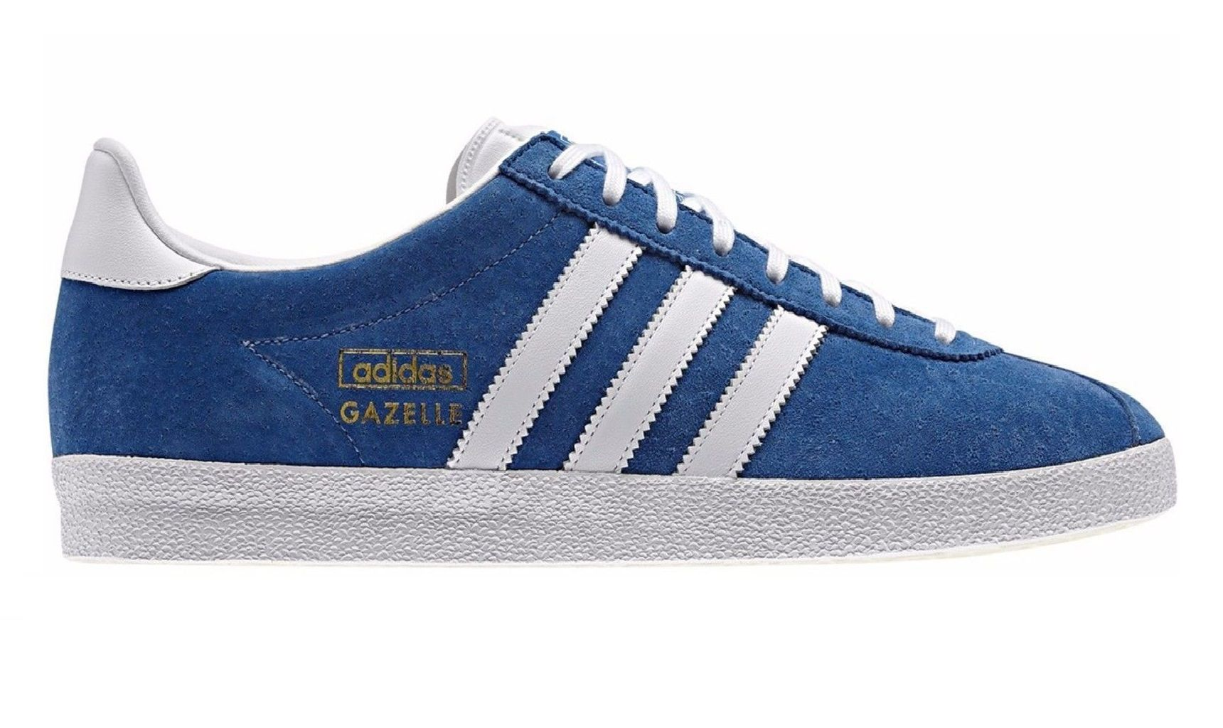 Adidas Originals Men's Gazelle OG Vintage Royal Suede Leather Casual Shoes Trainers