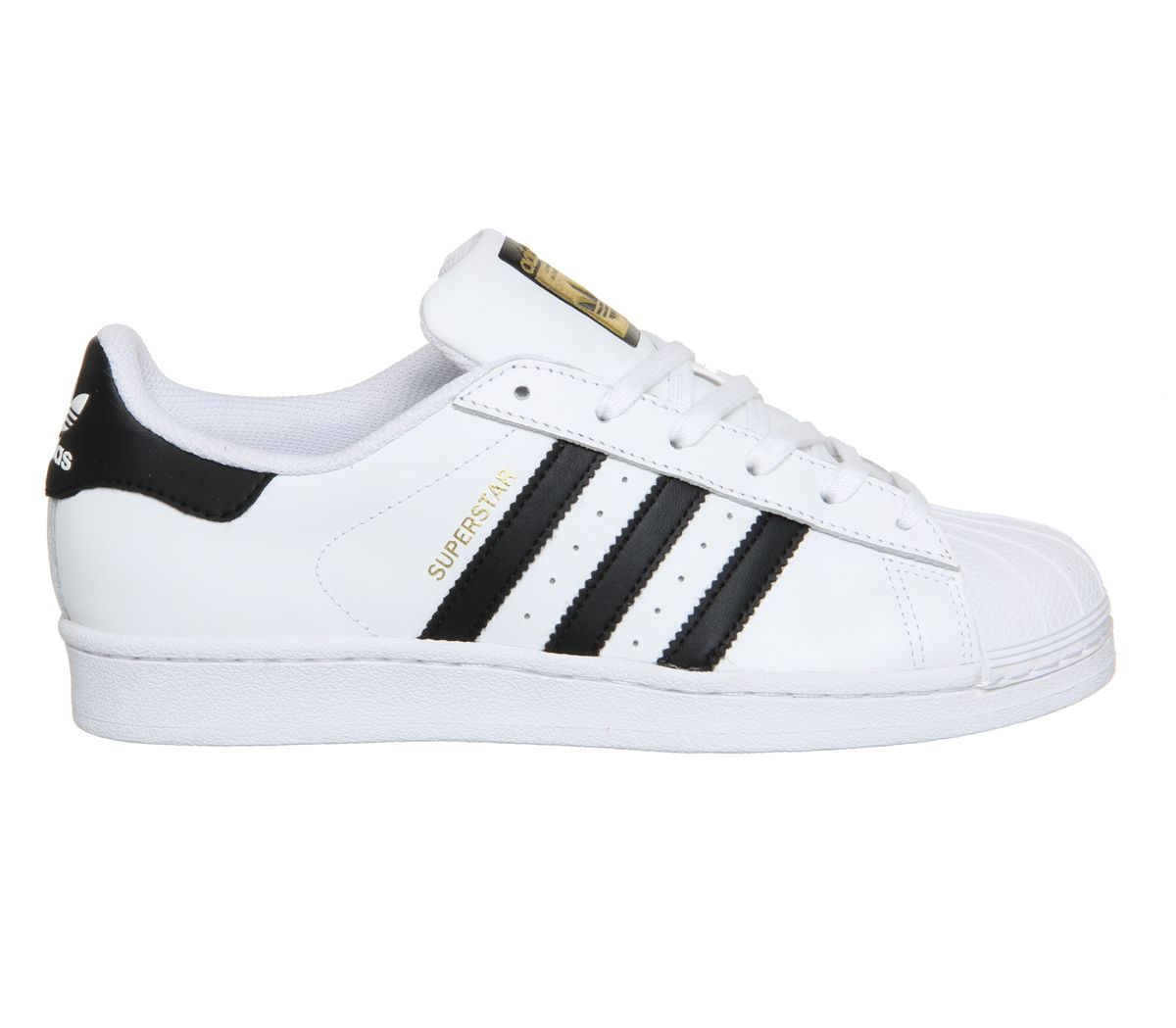 best sneakers 311a6 498f5 Adidas Originals Men s Superstar 2 White Black Stripe Leather Retro Trainers