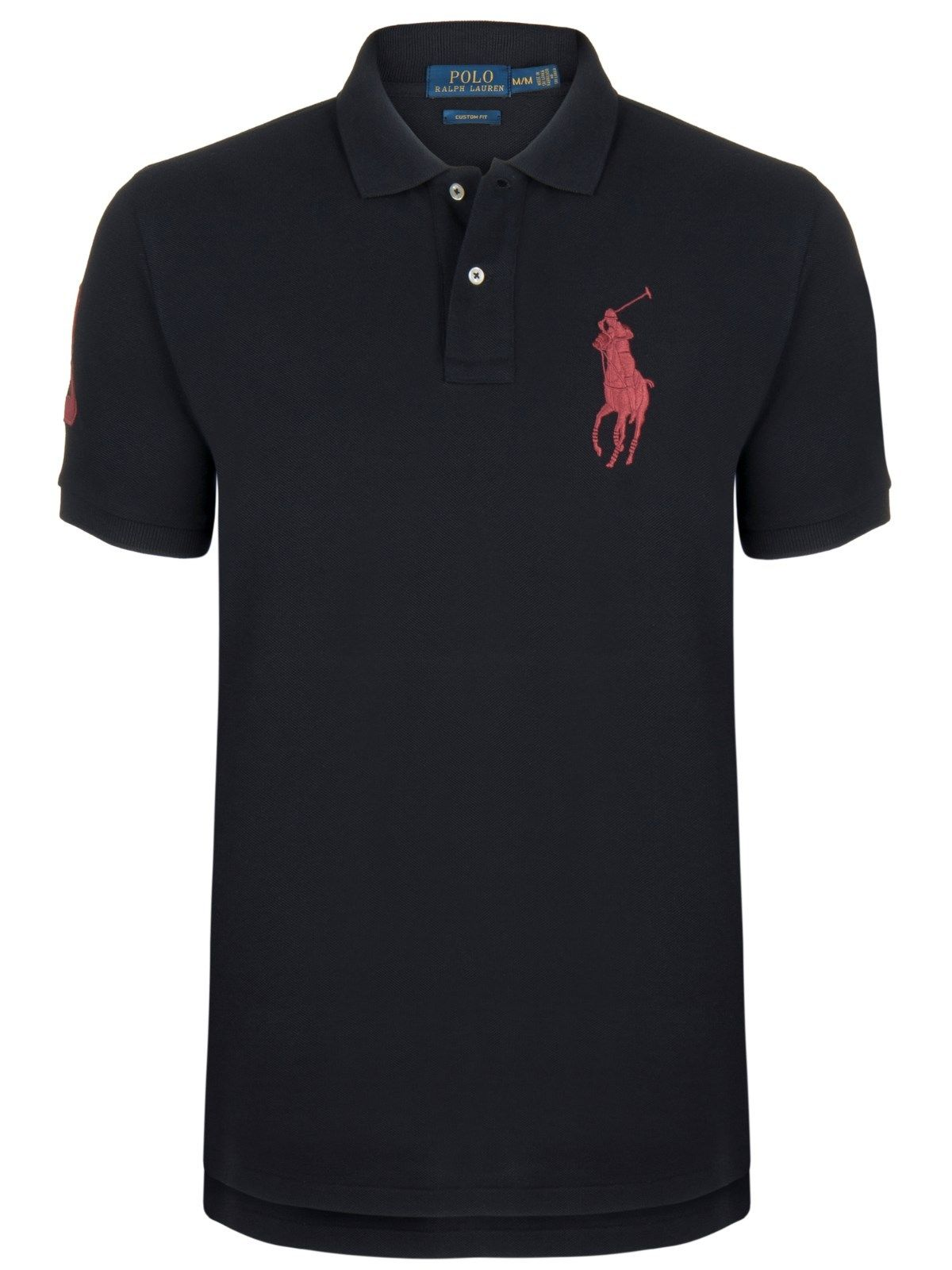 Black And Red Ralph Lauren Polo